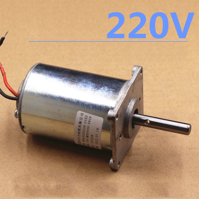 Dual Ball Bearing 220V 3100rpm DC Motor High Efficiency Low Noise Motor For DIY