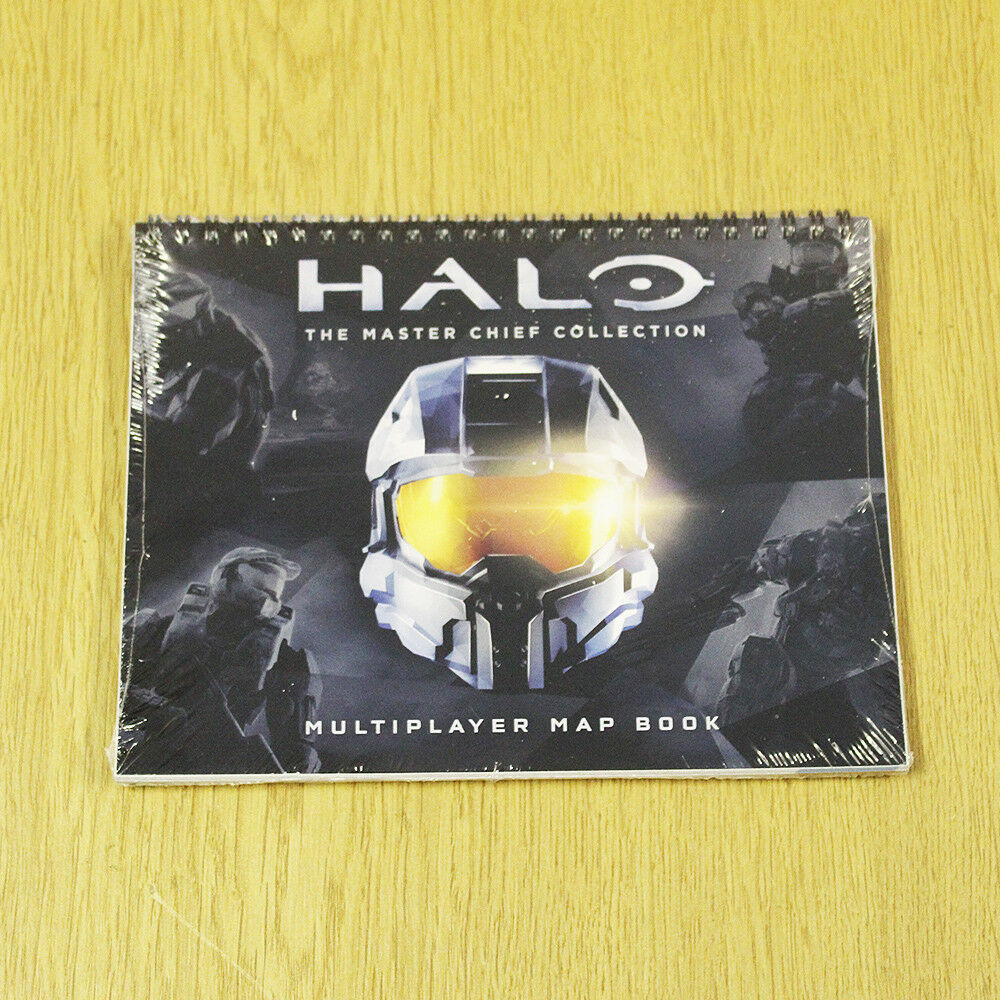580c4f7352 Details about HALO - The Master Chief Collection - Multiplayer Map Book -  Xbox one bundle
