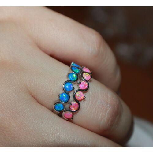 fire-opal-ring-gemstone-silver-jewelry-65-75-wedding-cocktail-delicate-band-k8
