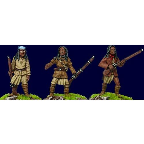 artizan-wild-west-apaches-with-rifles-aww202-28mm-unpainted-plains-wars