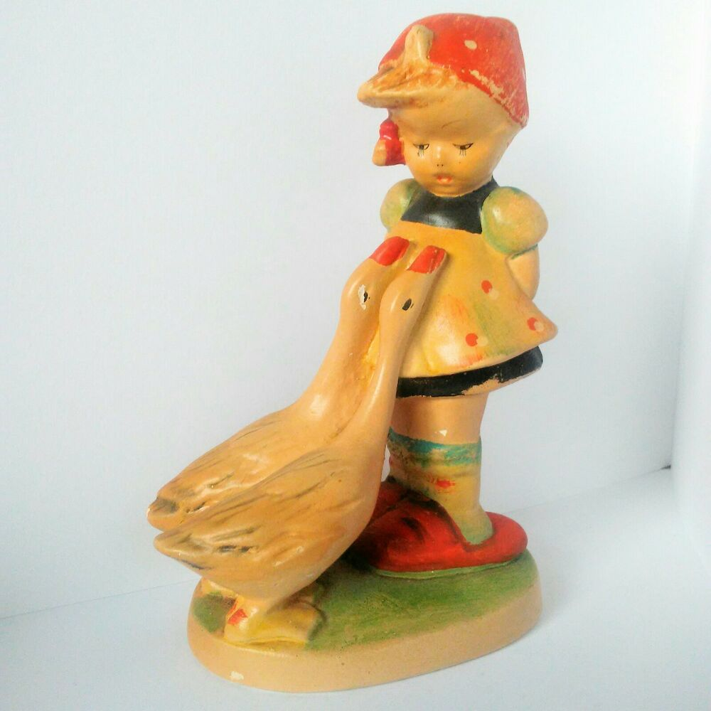 Original Hummel Reproduction Hand Painted by RascalsRarities