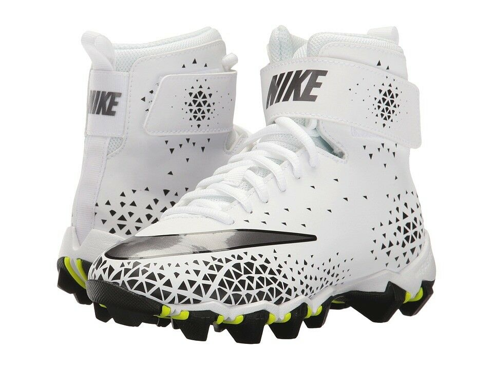 Details about youth 3.5 nike force savage shark rubber molded football lacrosse  cleats 880133- b95ff2374