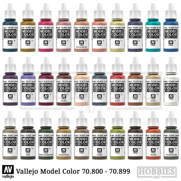 Systems & Sets Model Hobby Paint 17ml Bottle Val828 Av Vallejo Model Color Airbrushing Supplies Woodgrain To Suit The PeopleS Convenience