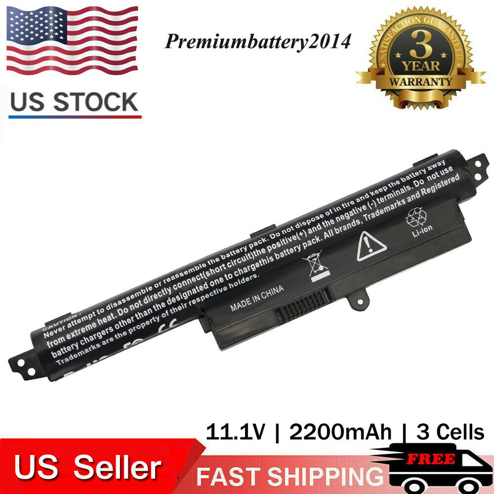 Battery For Asus Vivobook X200ca X200m X200ma F200ca 116 Series Baterai A31n1302 Notebook 3cell Ebay
