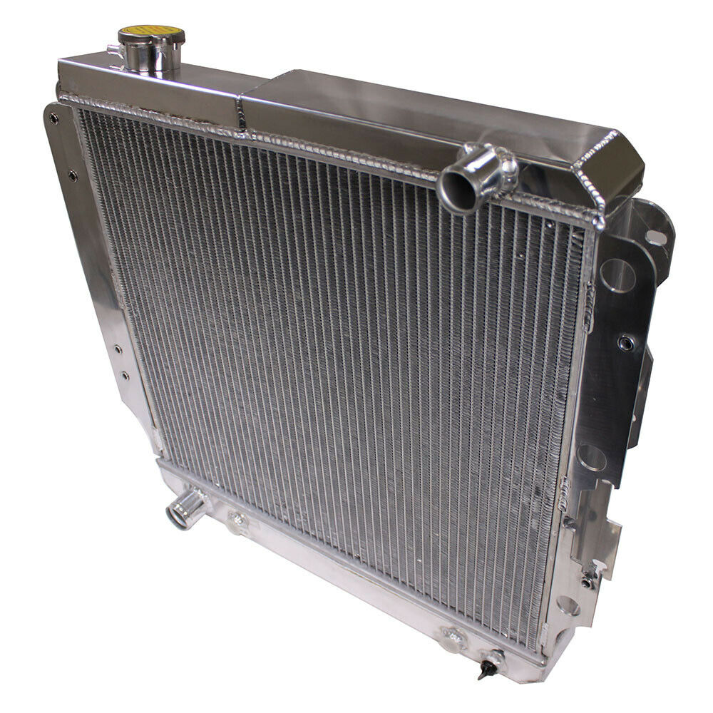 for 87 06 jeep wrangler yj tj 2 4l 4 2l 3 row aluminum racing radiator ebay. Black Bedroom Furniture Sets. Home Design Ideas