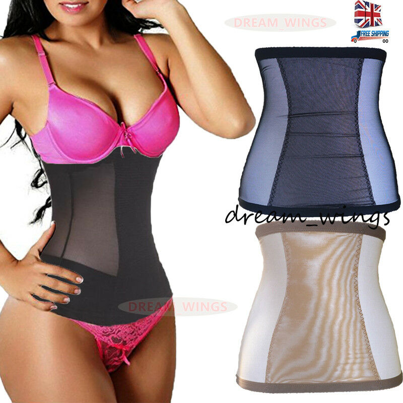 9aa8ac4bb5 Details about Women Body Shaper Invisible Tummy Trimmer Waist Clincher  Tight Girdle Subcoating