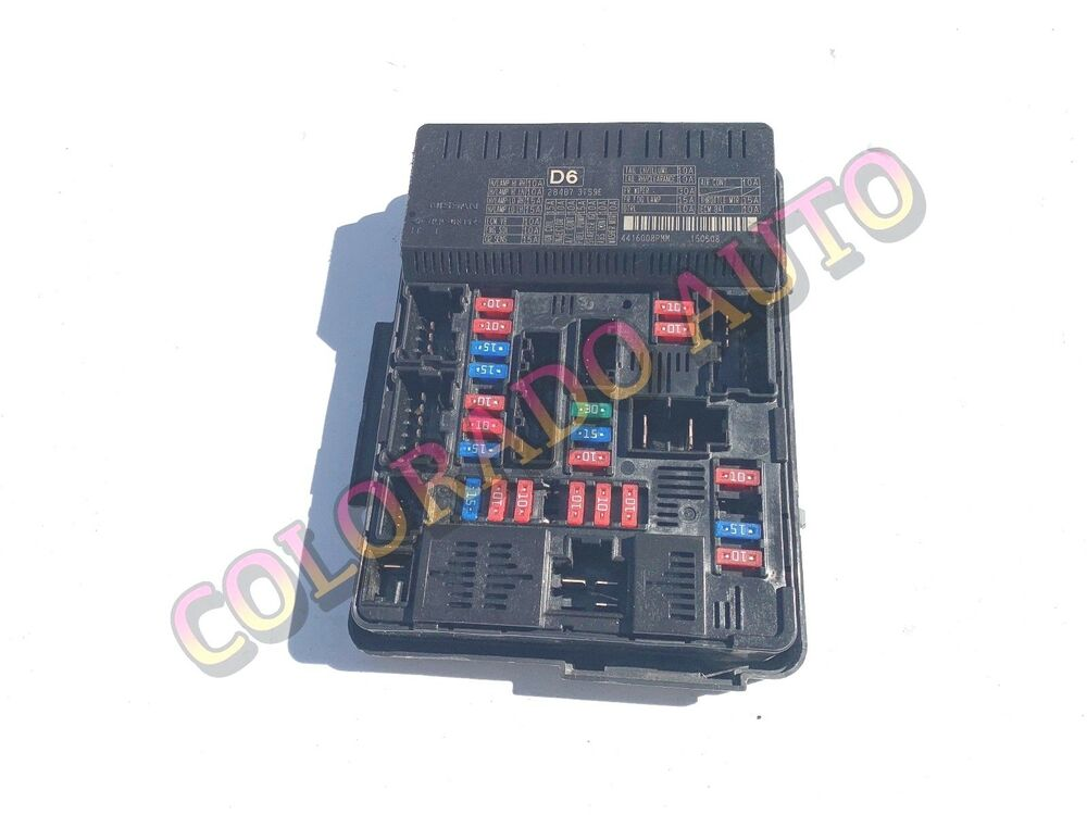 OEM WARRANTY 2014 2015 2016 NISSAN ALTIMA FUSE BOX ENGINE RELAY