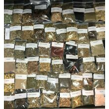 HERBS, 10 HERB and Resin KIT/Lot (YOU CHOOSE) PAGAN, SPELLS, WICCA, WITCHCRAFT