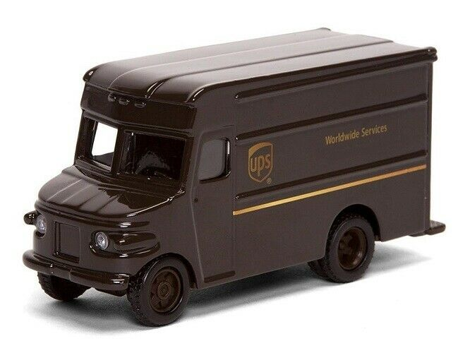 Ups United Parcel Service Cast P 600 Package Car Toy Truck Ebay