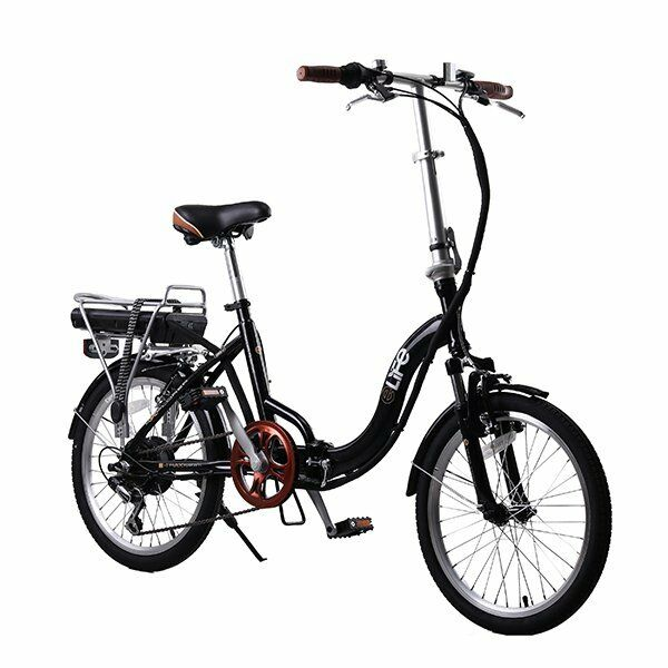 Ebike Explorer 36v Electric Folding Bike 20 Black Manufacturer