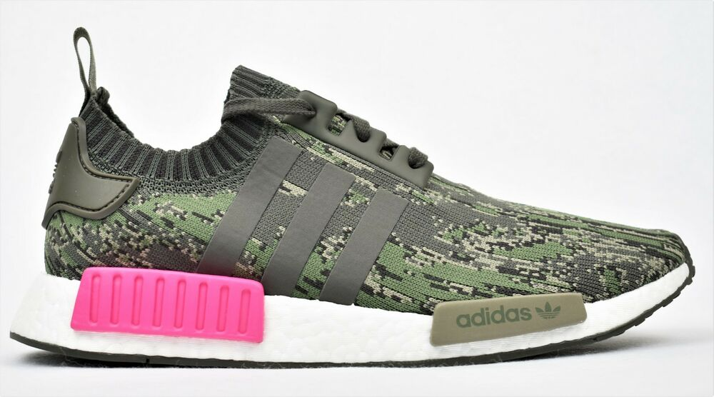 b3125e251 Details about ADIDAS ORIGINALS NMD R1 PK PRIMEKNIT BOOST SHOES CAMO PINK  BZ0222 NEW MENS