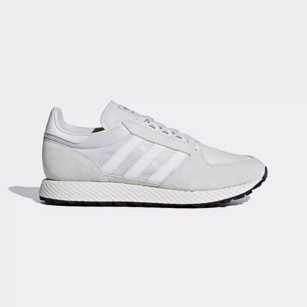 half off 12318 780bc New Mens adidas Originals Forest Grove Shoes Running Sneakers Retro Style   eBay