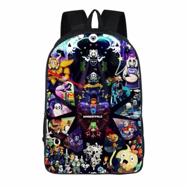 Hot Game Undertale school Travel Laptop Shoulder Packsack Backpack Student bag