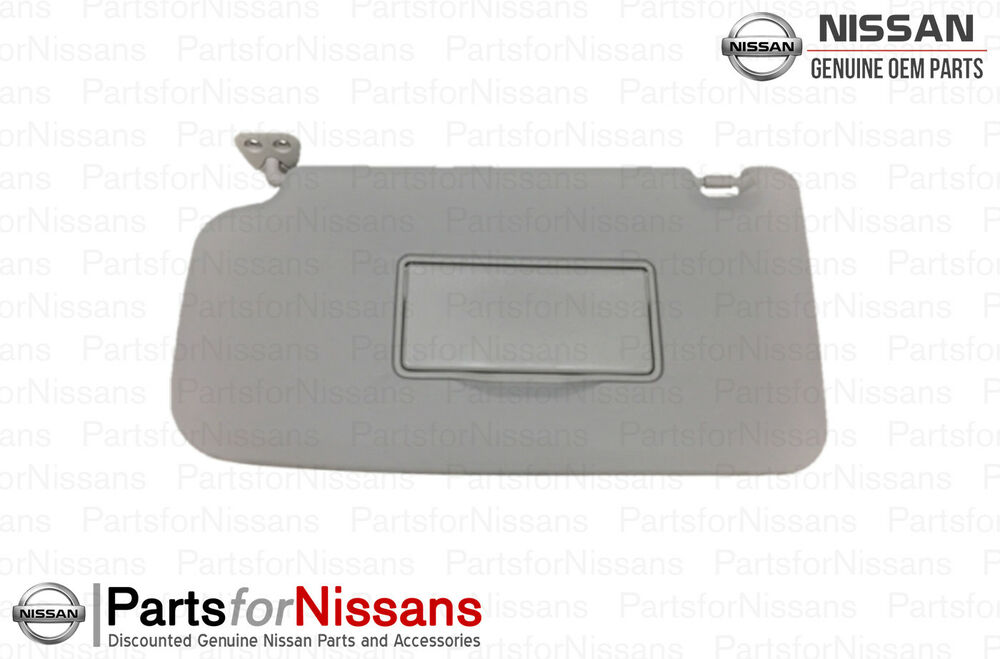 Details about Genuine Nissan Cube Driver Left Side Sun Visor Shade  96401-1FC0A 0c0f4502b31