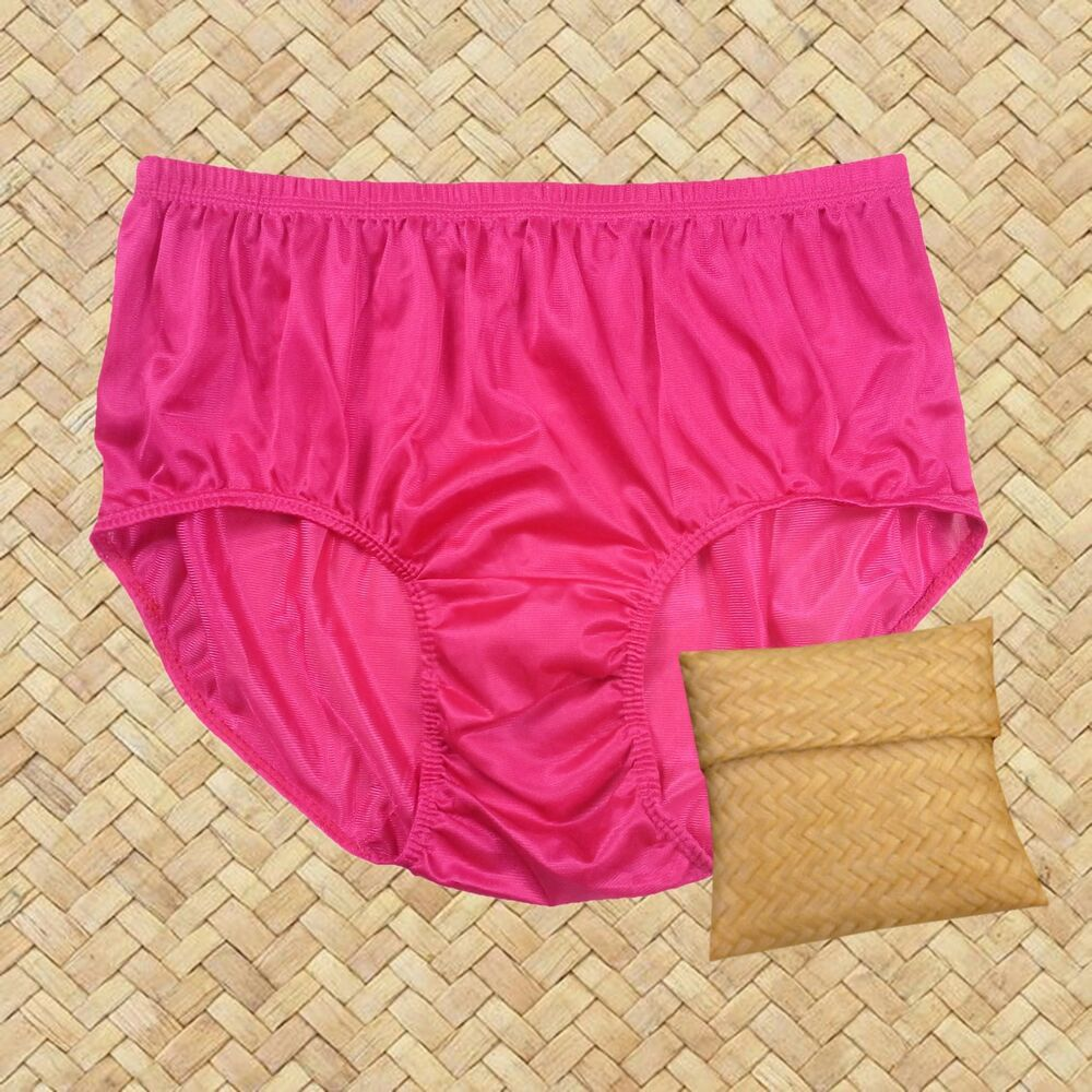 124b25cf9e82 Details about Light Pink Vintage Nylon Panties Briefs Hipster Panty Underwear  Knicker Undies
