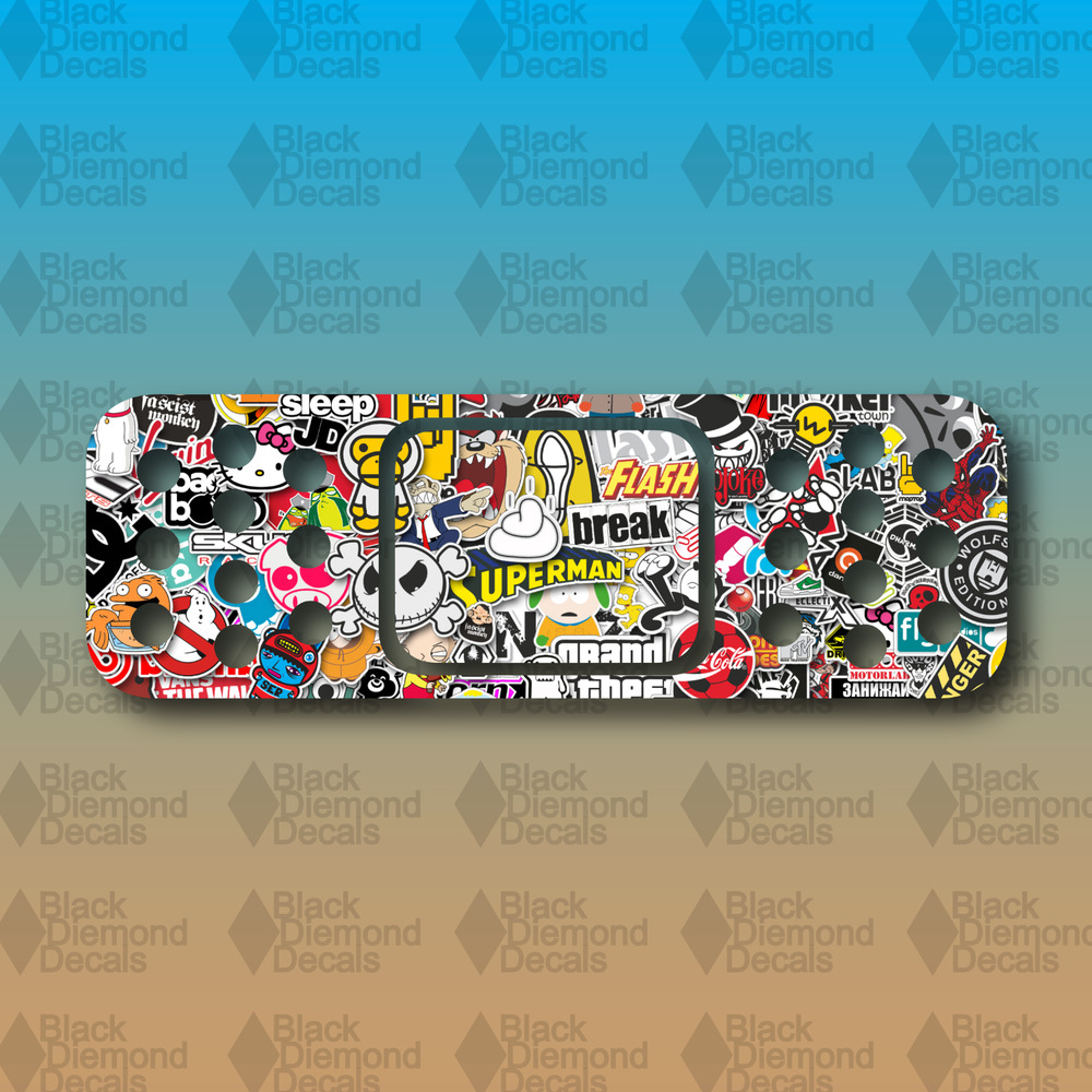 Details about band aid sticker bomb dent cover funny 6 euro custom vinyl decal sticker jdm