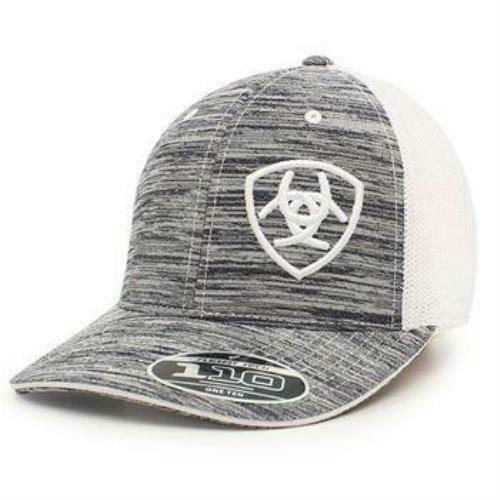 63530b68a01 Details about Ariat Men s Logo Embroidered Ball Cap