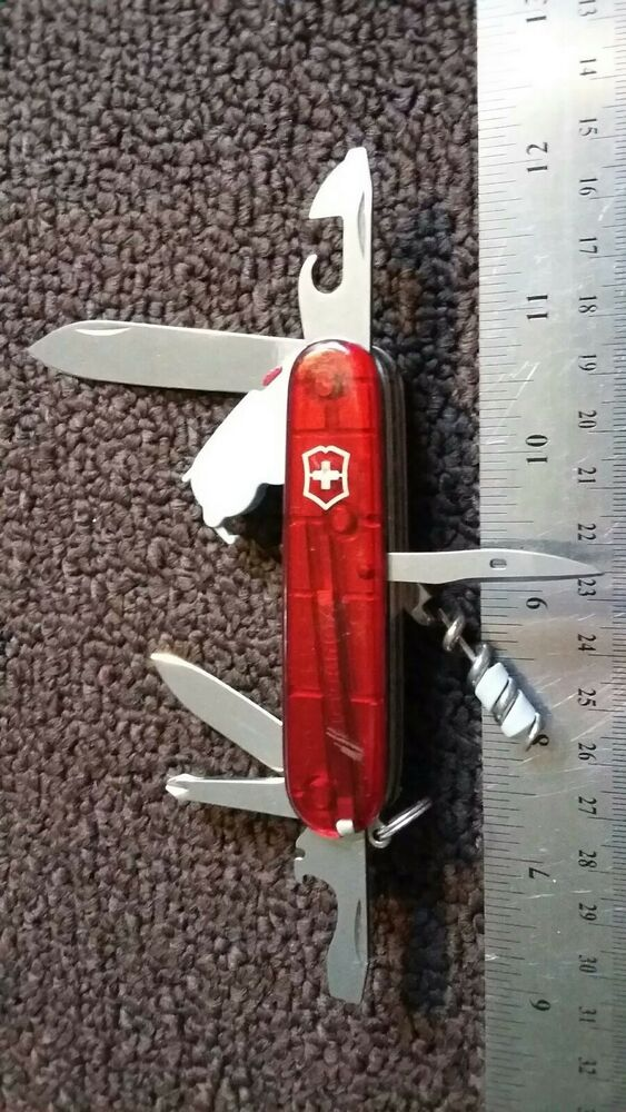 Swiss Army Victorinox Spartan Lite Pocket Knife Multi Tool