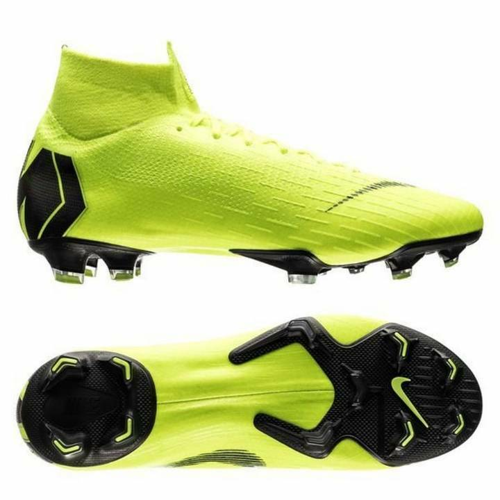 5408544ec Details about Nike Mercurial Superfly VI 6 Elite FG Firm Ground Football  Boots - Neon   Black