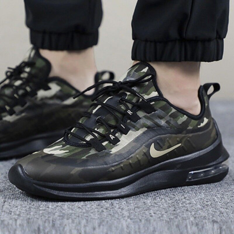 online store 8add3 574a0 Details about Nike Air Max Axis Premium Men s Trainers Running Shoes Camo  UK 8
