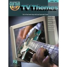 Hal Leonard TV Themes Guitar Play-Along Volume 45 Book with CD