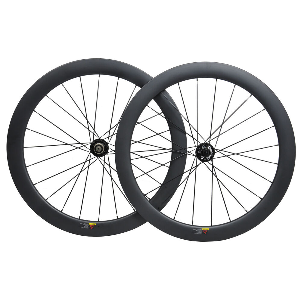 1152dde0f52 Details about 55mm Carbon Cyclocross Gravel Bike Wheel 700C Road Bicycle Wheelset  Disc Brakes
