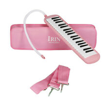 IRIN Portable 37 Key Melodica with Bag Toy Gift for Kids Children Students Pink