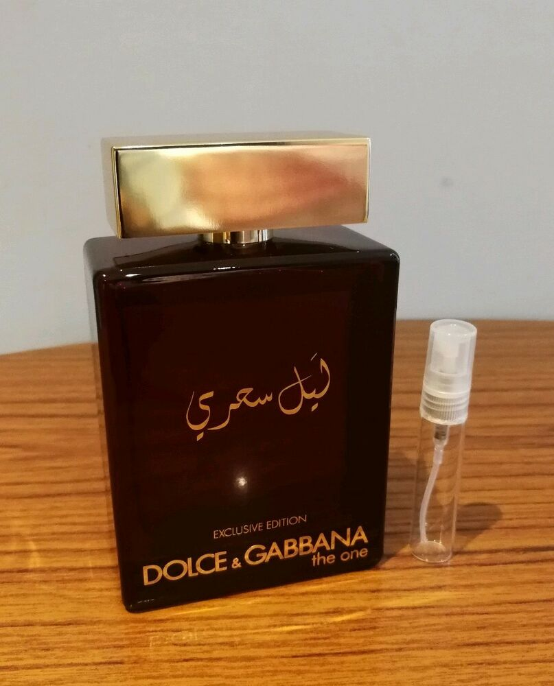 Details about Dolce   Gabbana The One Mysterious Night Edp 10ml Sample. c962e25485f4