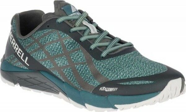 5023bdc1ec8 Details about Mens Merrell Bare Access Flex Shield Blue Hypernature Vegan  Trail Running Shoes