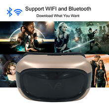 720P Virtual Reality Game Headset VR Movie Glasses With Android OS Remote Panel