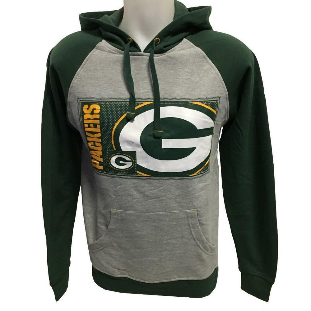 Details about NFL Men s New Green Bay Packers Hoody Sweatshirt Small Gray  Hoodie Football 91329d5cb