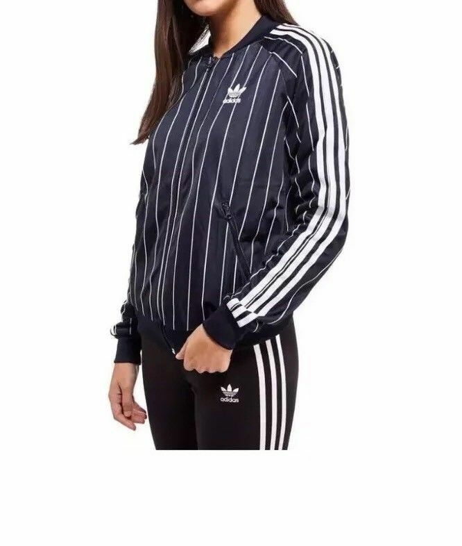 c978f5a69 Women s Adidas Originals Tennis Superstar Tracksuit Top Bomber Jacket Size  UK 6