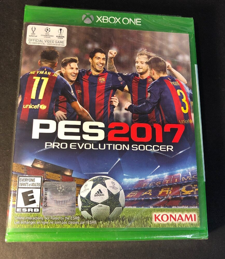 c6b134303f Details about Pro Evolution Soccer 2017   PES 2017   (XBOX ONE) NEW