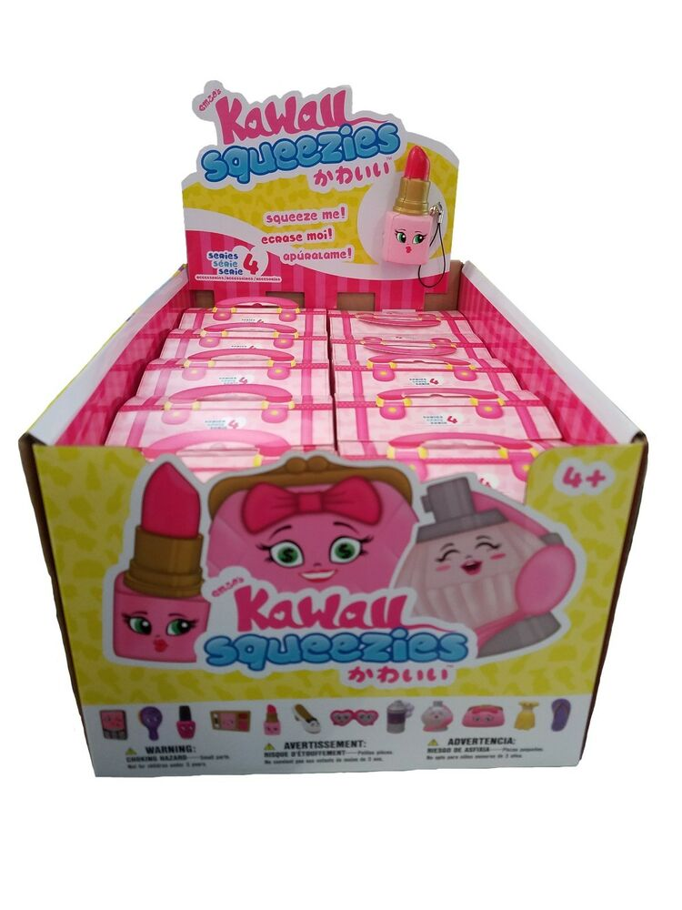 Full Case Of 20 Kawaii Squeezies Series 4 Blind Box