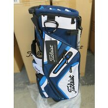 NEW * Titleist BLACK BLUE WHITE * TB5SX14 - 414 Bag 14 Way STAND / CARRY