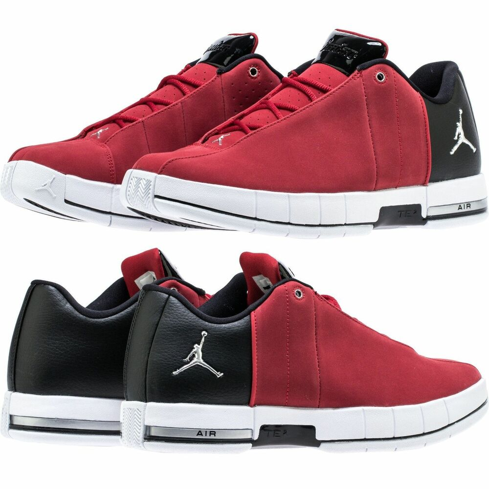 de72d812f6ee7a Details about AIR JORDAN TEAM ELITE TE 2 LOW Gym Red White Black MEN S  LIFESTYLE COMFY SHOES