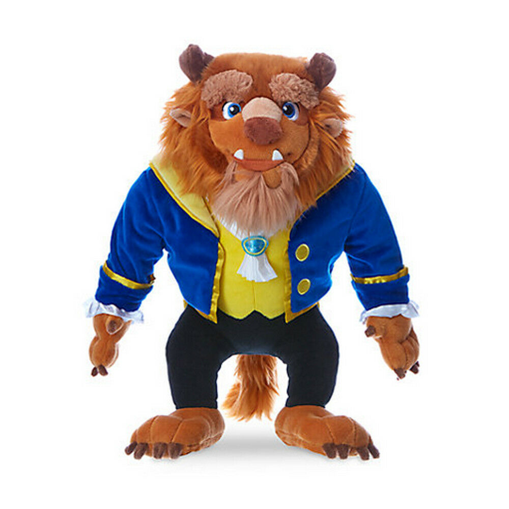 NEW Official Disney Beauty & The Beast 43cm Beast Soft