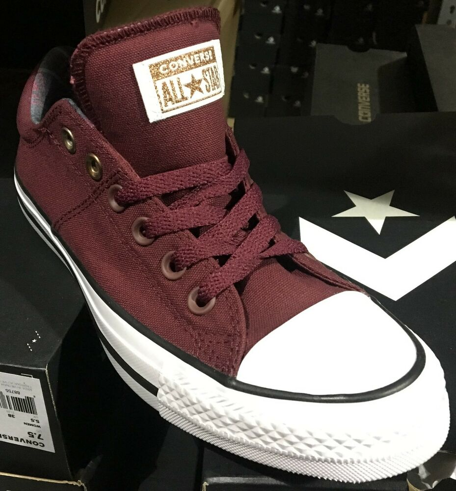 933c3a312e508d Converse Chuck Taylor All Star Madison OX Women Casual Shoes Burgundy  561739F L