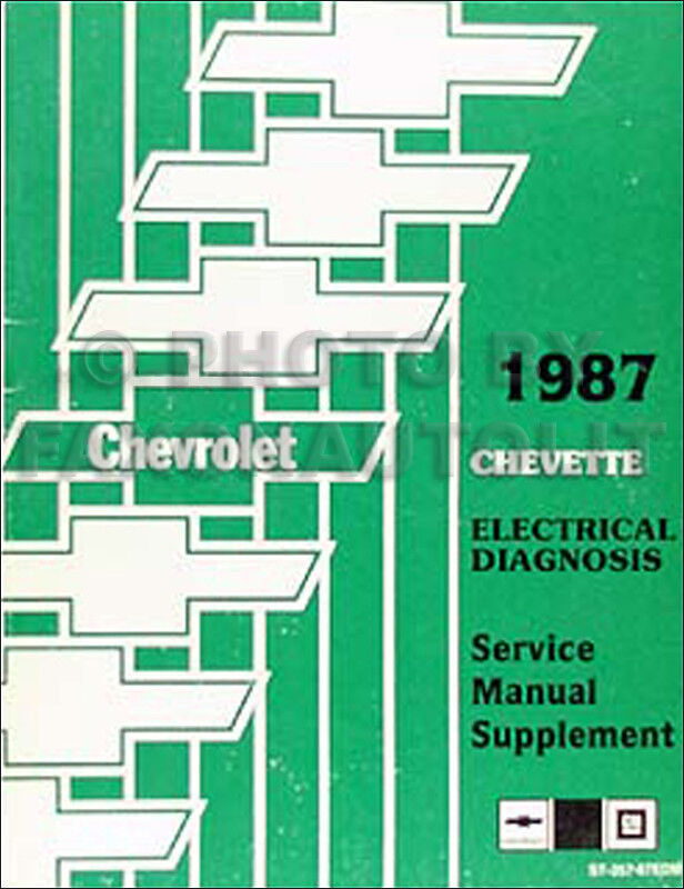 1987 Chevette Wiring Diagram Electrical Diagnosis Service
