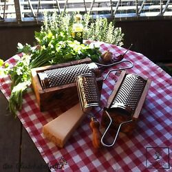 Cheese Grate Cheese Slicer Vegetable Grater Parmesan Grater Olive Wood