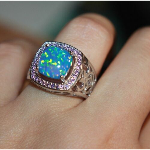 fire-opal-amethyst-ring-gemstone-silver-jewelry-sz-7-75-8-victorian-engagement-