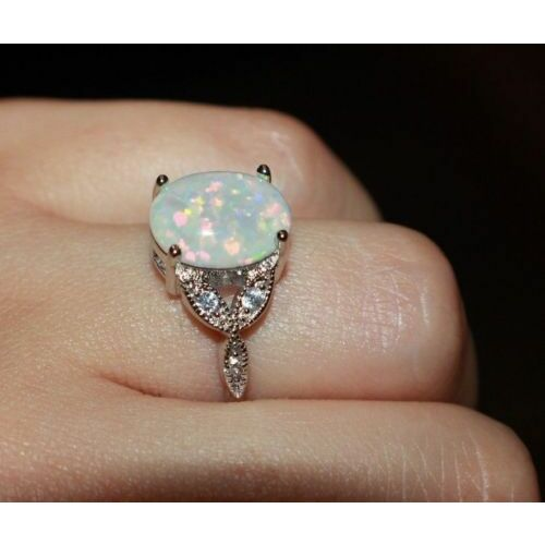 white-fire-opal-cz-ring-9-105-11-gems-silver-jewelry-engagement-cocktail-band-