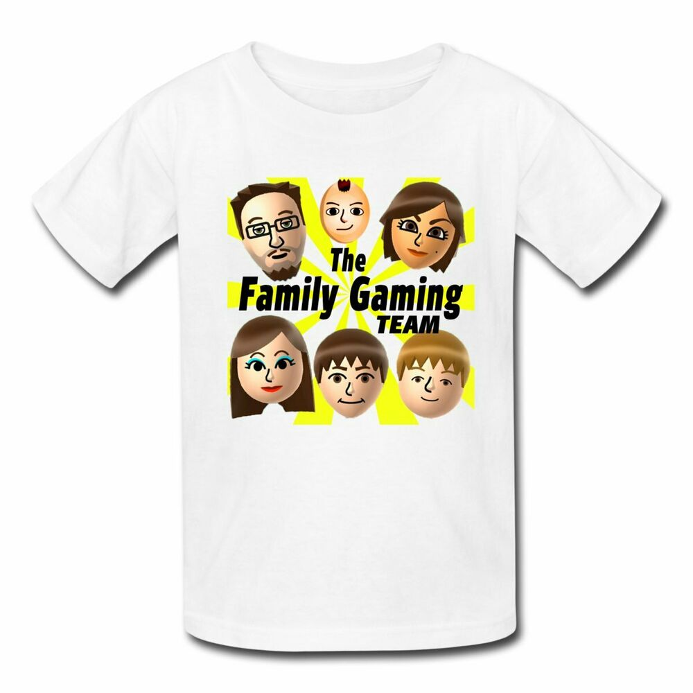 f6cf594b Details about FGTeeV The Family Gaming Team Kids' T-Shirt by Spreadshirt™