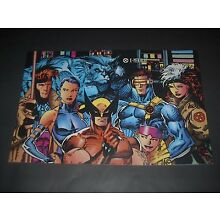 MARVEL COMICS X-MEN BLUE GROUP POSTER PIN UP JIM LEE
