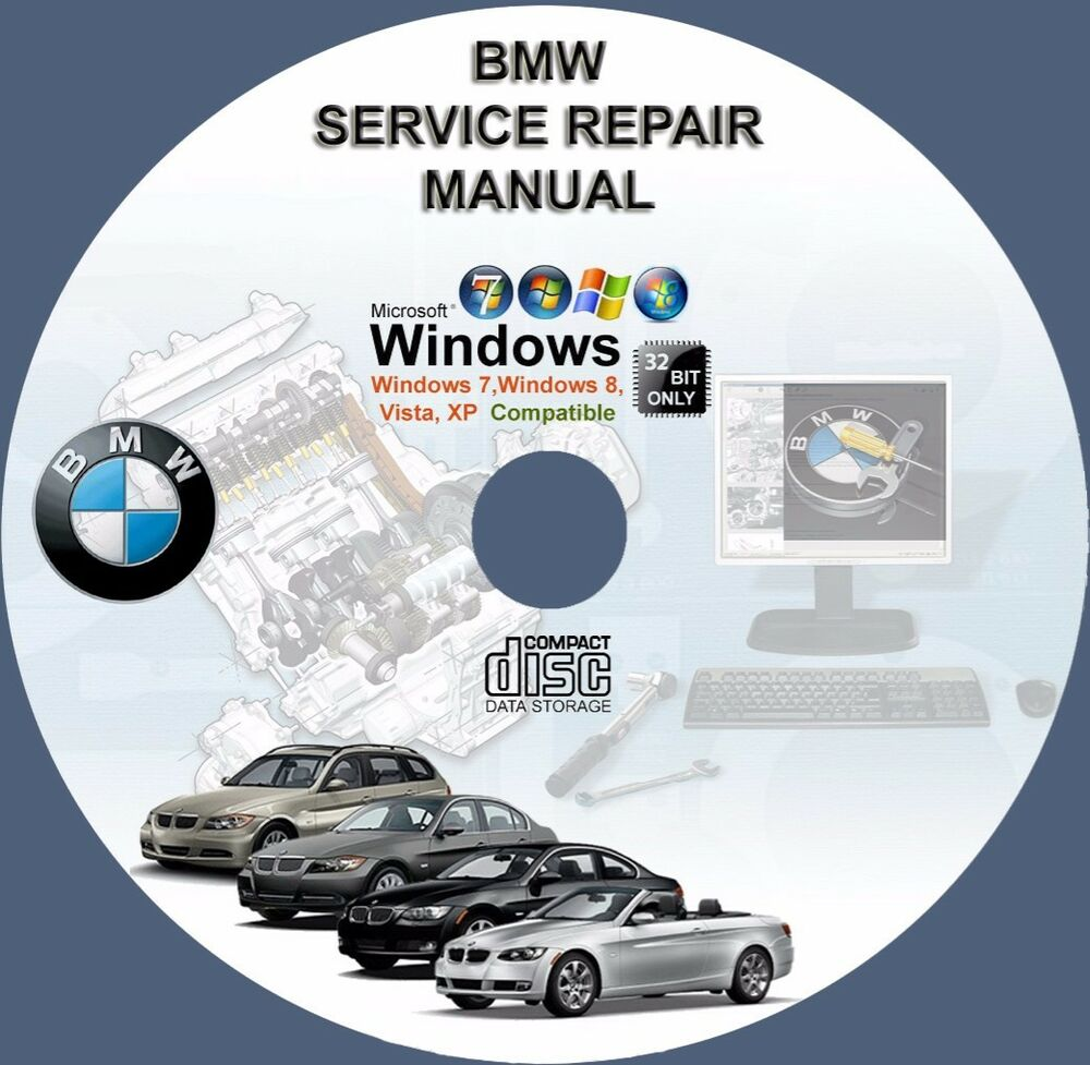 BMW 5-SERIES E39 E34 E53 E E60 E61 E70 X5 M5 SERVICE REPAIR MANUAL on DVD |  eBay