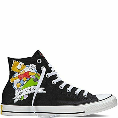 880a1b81a7f2 Details about UNISEX CONVERSE Chuck Taylor All Star The Simpsons Bart  Casual 146810F Rare New