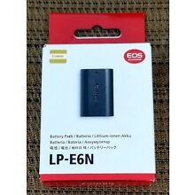Genuine Canon LP-E6N Rechargeable Battery Pack for Canon EOS