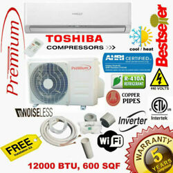 Kyпить 12000 BTU Air Conditioner Mini Split 19 SEER INVERTER AC Ductless Heat Pump 110V на еВаy.соm