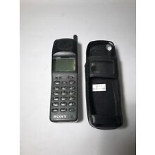 Vintage Sony CM-D500 Digital Portable cellular cell phone L5ACMD500 Untested