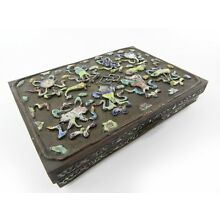 Antique Chinese Cloisonne Snuff Box